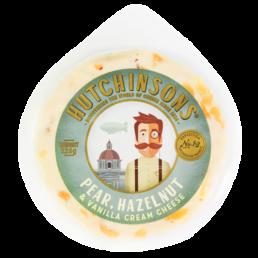 Hutchinsons Pear, Hazelnut and Vanilla Cream Cheese
